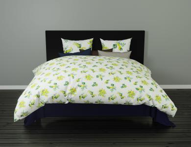 """Christian Fischbacher """"Mimosa"""" Satin Bed Linen"""