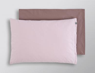 """Bittersweet"" percal bedding CF by Christian Fischbacher, Pink"