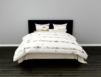 "Christian Fischbacher ""Counting Sheep"" Satin Bed Linen"