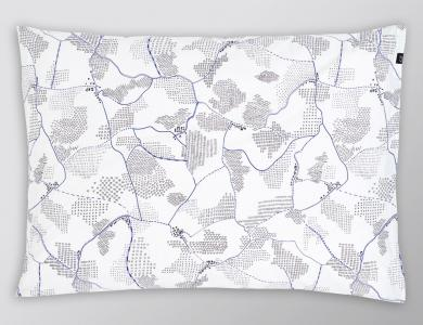 """""""Show Me The Way"""" percal bedding CF by Christian Fischbacher"""