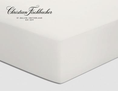 Christian Fischbacher fitted sheet Jersey - Ivoire 207