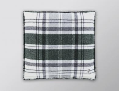 Eskimo cuddly pillow Bergün, dark green