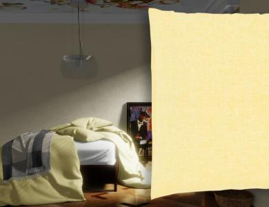 """Sunkiss"" linen bedding CF by Christian Fischbacher, Sunlight"