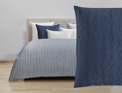 Christian Fischbacher Jacquard Duvet Cover Set Artemis anthrazit