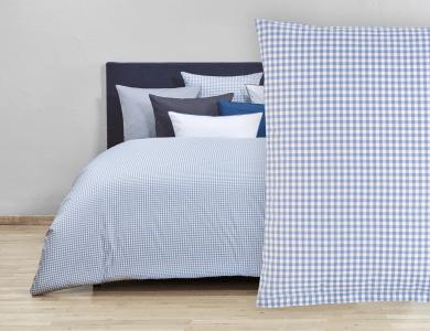 Christian Fischbacher Bed Linen Vichy blue