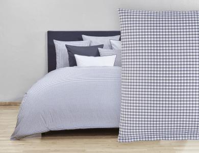 Christian Fischbacher Bed Linen Vichy gray