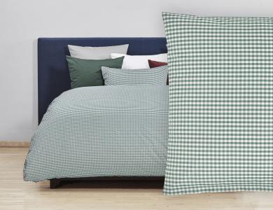 Christian Fischbacher Bed Linen Vichy green