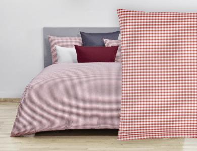 Christian Fischbacher Bed Linen Vichy red