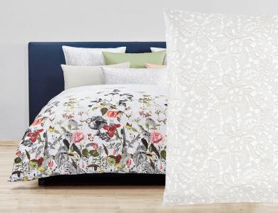 Fischbacher Bettwäsche Interlace Satin Bed Linen