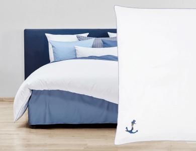 """Christian Fischbacher Bed Linen """"Ahoi"""" Satin"""