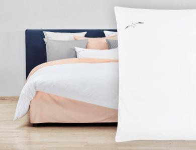 "Christian Fischbacher Bed Linen ""Sea You Soon"" Satin"