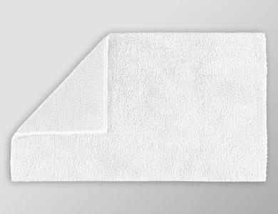 Christian Fischbacher bath mat Elegant white