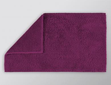Christian Fischbacher bath mat Elegant berry