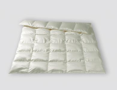 Christian Fischbacher Luzern All-Year down comforter, silk