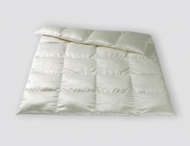 Christian Fischbacher Zermatt Winter down comforter, silk