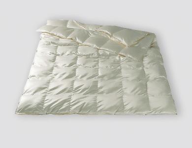 Christian Fischbacher Geneva 4-Saisons down comforter, silk