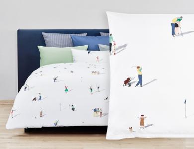 Fischbacher Bettwäsche Chukka Satin Bed Linen