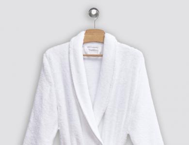 Christian Fischbacher terry bathrobe Cocoon white
