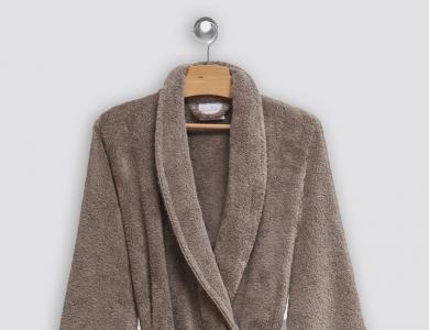 Christian Fischbacher terry bathrobe Cocoon pebble
