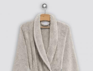 Christian Fischbacher terry bathrobe Cocoon sand