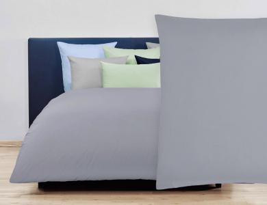 Christian Fischbacher Duvet Cover Set Jersey - Gray 025