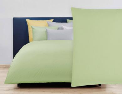 Christian Fischbacher Duvet Cover Set Jersey - Gray green 054
