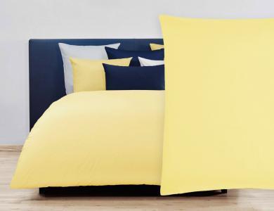 Christian Fischbacher Satin Duvet Cover Set - yellow 013