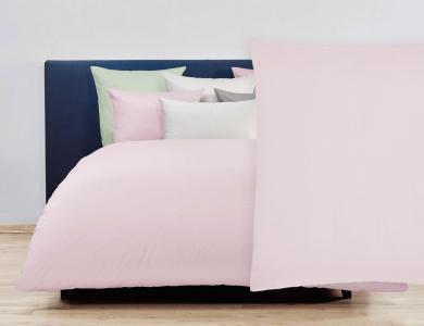 Christian Fischbacher Duvet Cover Set Jersey - Light pink 828