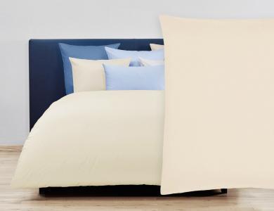 Christian Fischbacher Duvet Cover Set Jersey - Off-white 027