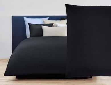 Christian Fischbacher Duvet Cover Set Jersey - Black 006