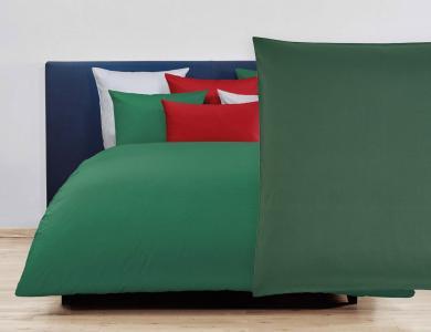 Christian Fischbacher Duvet Cover Set Jersey - Forest green 264