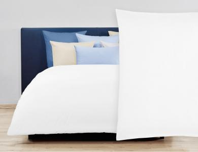 Christian Fischbacher Satin Duvet Cover Set - White 010
