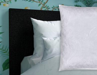 Christian Fischbacher Jacquard Duvet Cover Set Sassan white