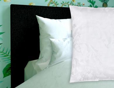 Fischbacher Jacquard Duvet Cover Set Minerva white