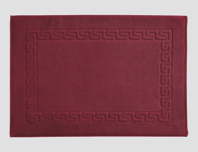 Shower Mat Dreamflor Bordeaux