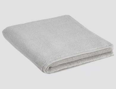 Terry Towel Dreampure Silver
