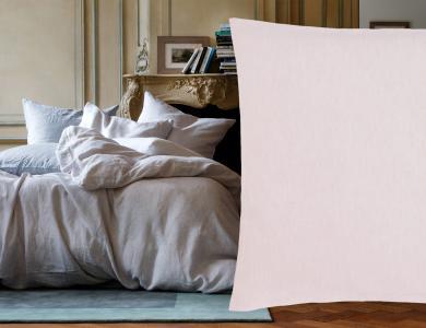 """""""Purolino"""" linen bedding Christian Fischbacher, pink"""