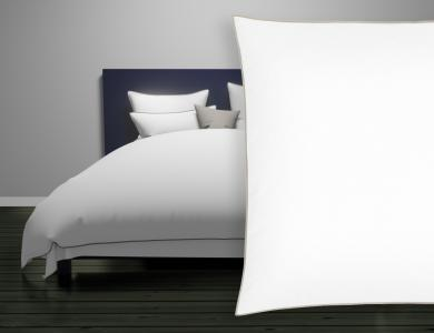 "Christian Fischbacher Satin Duvet Cover ""New Selection"" pebble"