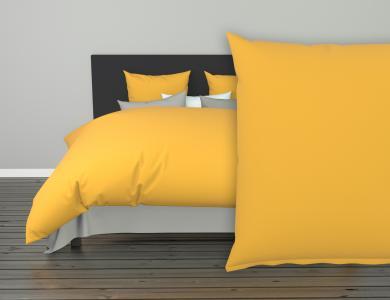 Christian Fischbacher Jersey Duvet Cover Set - Mustard 223