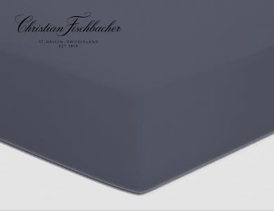 Christian Fischbacher fitted sheet Satin - Anthrazit 095
