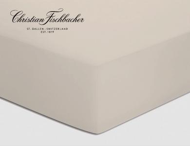 Christian Fischbacher fitted sheet Satin - Linen 217