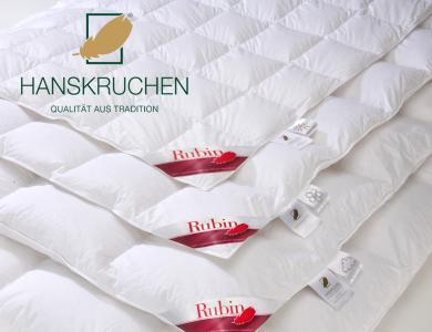 Hanskruchen lightweight All-Year down comforter Rubin