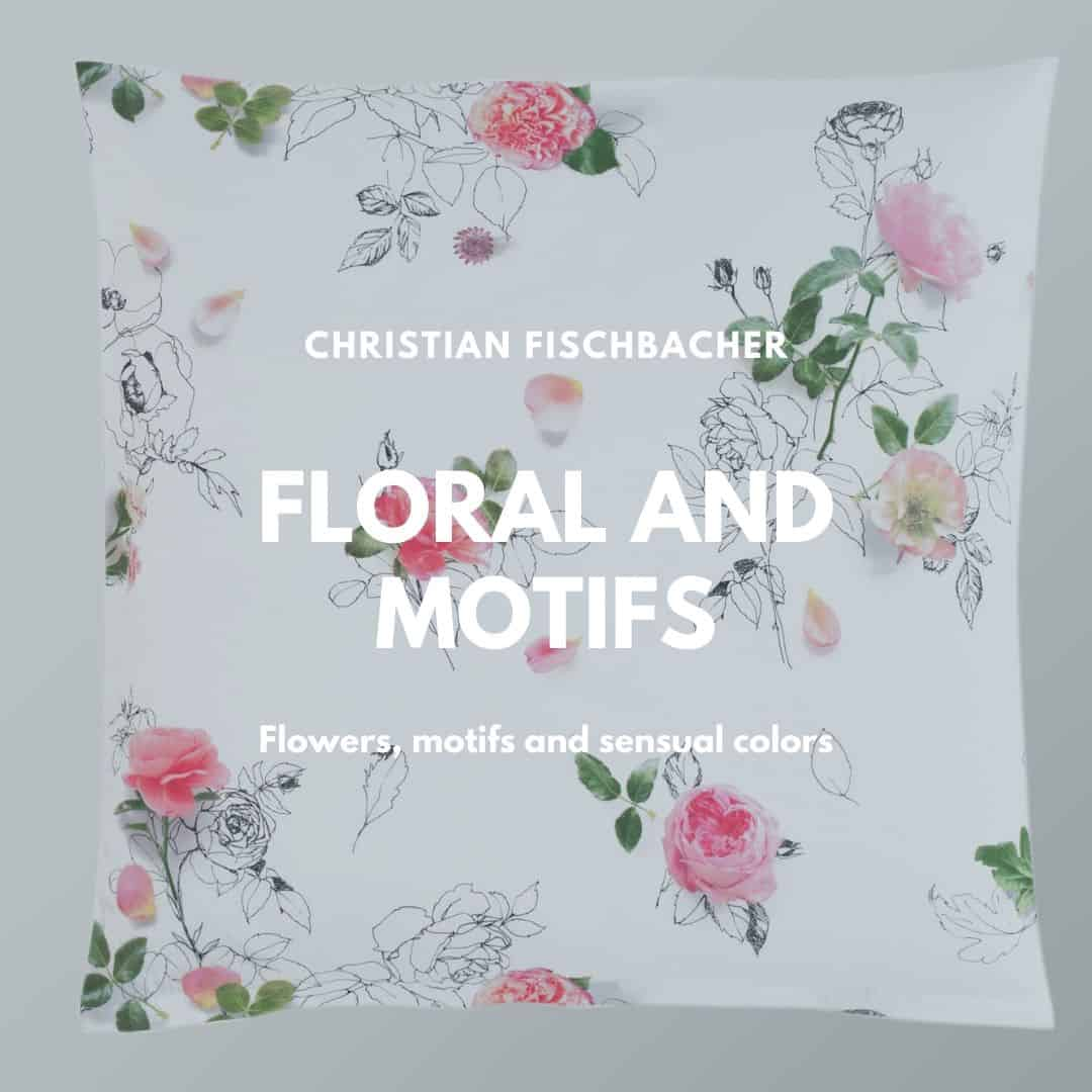 Bed linen with flowers from Christian Fischbacher