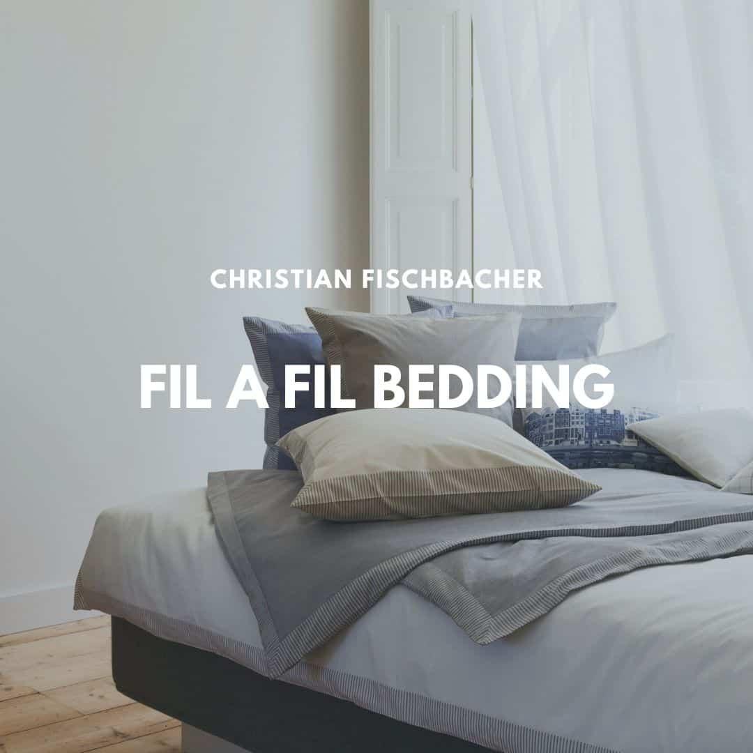 Fil a Fil bed linen from Christian Fischbacher