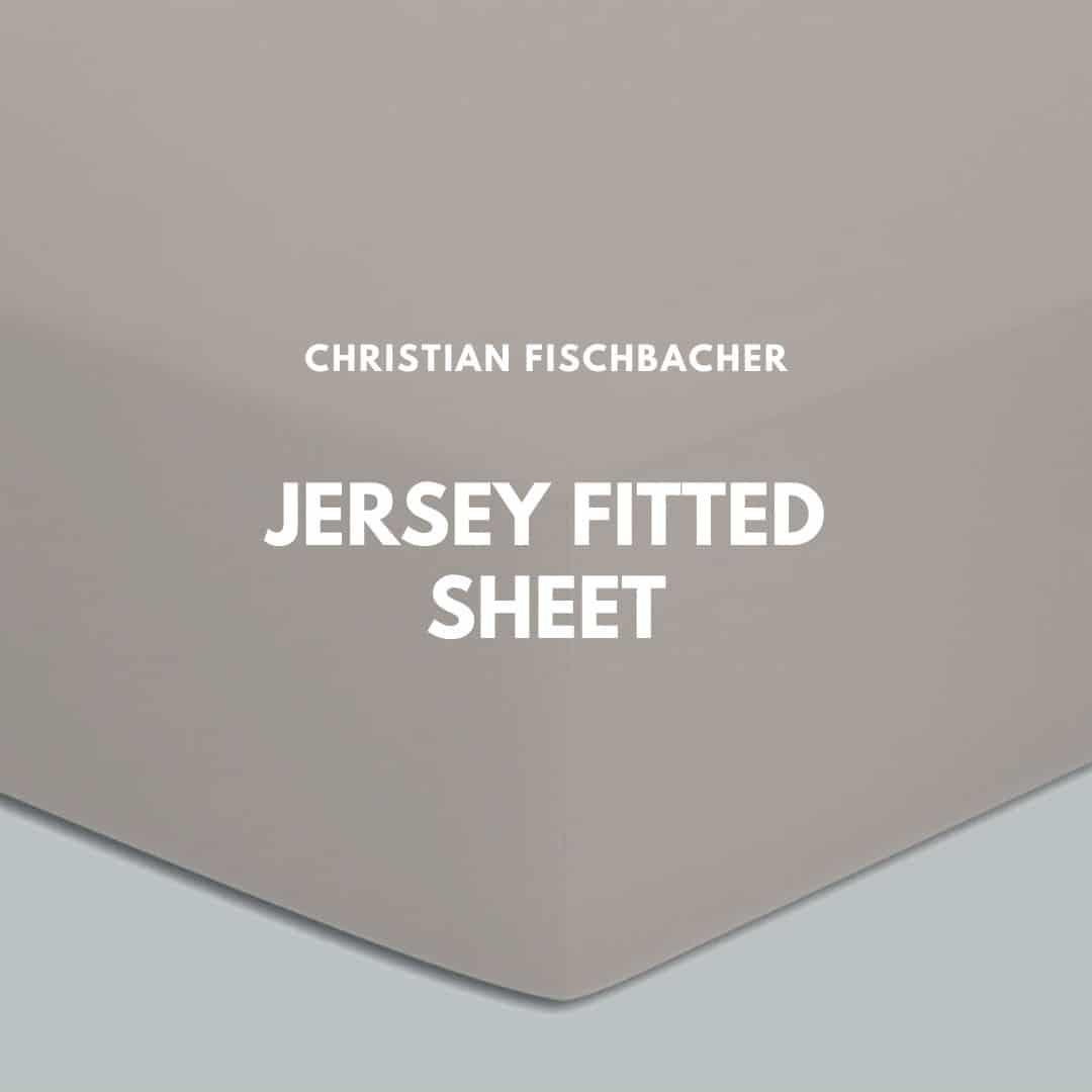 Christian Fischbacher jersey fitted sheet